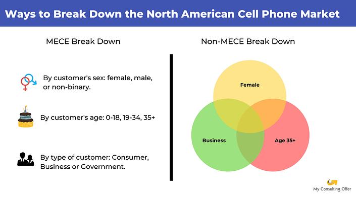 MECE principle - examples