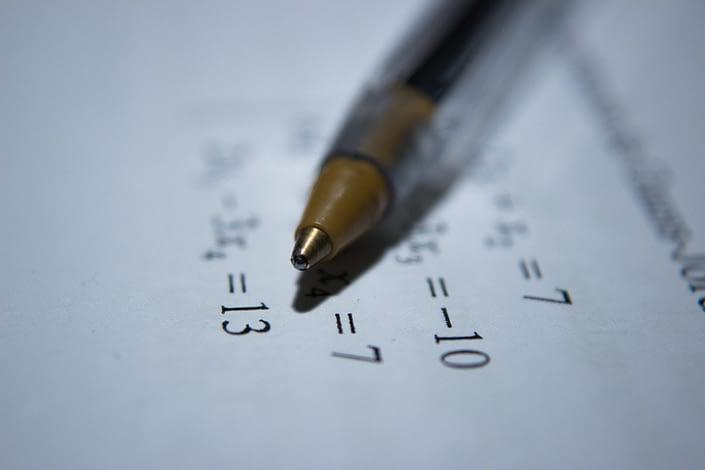 case interview math formulas - image shows math formulas