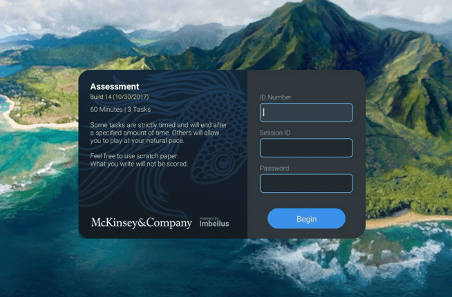 McKinsey video game assessment tool developed with Imbellus