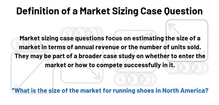 Market Sizing Case Definition